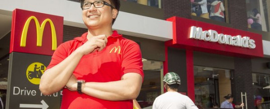 McDonald's Opens First Restaurant in Vietnam